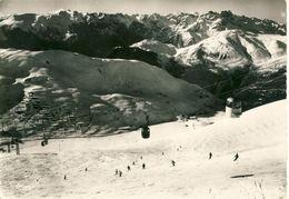 Les Deux Alpes De Mont-de-Lans Et Venosc Télévoiture Du Diable Massif De Belledonne Et Alpe D'Huez  Cpsm Format 10-15 - Vénosc