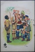 Scout Scoutismo Cartolina Primo Jamboree Raduno Internazionale Londra Milano - Cartoline