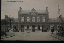 Nivelles - Gare  Est Vue De Face - Nivelles