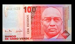 # # # Banknote Kap Verden (Cape Verde) 100 Escudos UNC # # # - Kaapverdische Eilanden