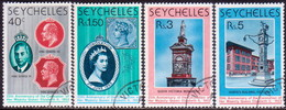 SEYCHELLES 1978 SG #428-32 Compl.set + M/s Used 25th Anniv Of Coronation - Seychelles (1976-...)