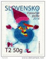 Slovakia - 2014 - Christmas Post - Mint Self-adhesive Scented Booklet Stamp - Slovakia