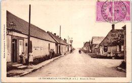 28 - Le TREMBLAY Le VICOMTE --  Route De Dreux - France
