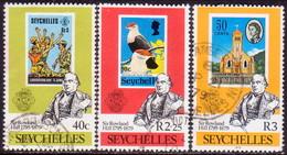 SEYCHELLES 1979 SG #450-52 Compl.set Used Sir Rowland Hill - Seychelles (1976-...)
