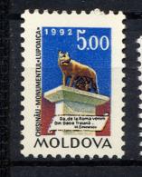 MOLDAVIE MOLDOVA 1992, LOUVE ROMAINE, 1 Valeur, Neuf / Mint. R353 - Moldavia