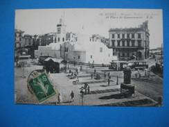 CPA  Alger - Mosquée Palais Consulaire Et La Place Du Gouvernement - Monuments