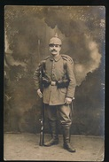 FOTOKAART DUITSE SOLDAAT - FELDPOST BEVERLOO - ZIE 2 AFBEELDINGEN - 1914-18