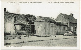 Stavele 914-18 CROMBEKESTRAAT NA BOMBARDEMENT - Alveringem