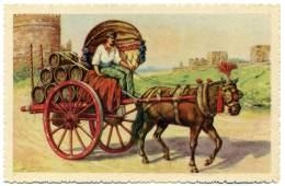 S.413.  ROMA -  Carro Da Vino (Costumi Romani) - Transports
