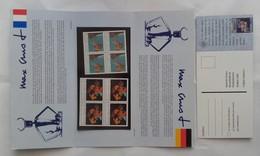 Timbres - émission Commune France Allemagne - Max Ernst - Bloc Souvenir (neuf SANS Blister) - 1991 - Blocs Souvenir