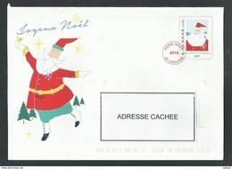 PAP PRET A POSTER HORS COMMERCE PERE NOEL 2016 LIBOURNE CHRISTMAS NAVIDAD - Prêts-à-poster:  Autres (1995-...)