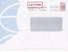 PAP: Entier Postal 50g Marianne De Beaujard. - Entiers Postaux