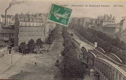 PARIS 15EME - Perspective Du Boulevard Pasteur - Distrito: 15