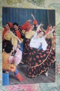Dniester River Bessarabia. GYPSY DANCE / Orchestra - GIPSIES Gipsy (gypsy) Old Soviet Pc 1974 Rare! - Bailes