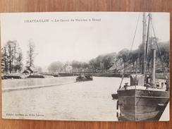 Chateaulin.le Canal De Nantes à Brest - Châteaulin