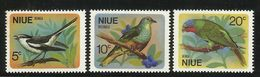 NIUE  1971   BIRDS  SET   MNH - Non Classés