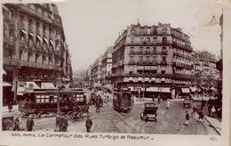 PARIS 3EME - Le Carrefour Des Rues Turbigo Et Réaumur - District 03