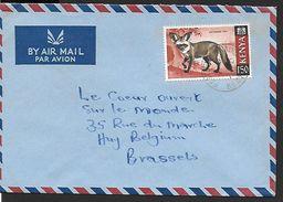 ! -  Kenya - Lettre Avec Timbre De 1969 à 1,50  - MI 35 - Kenya (1963-...)