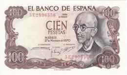 BILLETE DE 100 PTAS DEL AÑO 1970 SERIE 5E CALIDAD  EBC (XF) (BANK NOTE) MANUEL DE FALLA - [ 3] 1936-1975 : Regency Of Franco