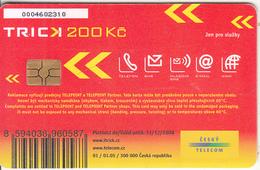 CZECH REPUBLIC - Cesky Telecom Telecard 200 Kc, 01/05 Used - Tchéquie