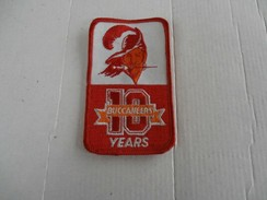 10TH BUCCANEERS ANNIVERSARY PATCH NFL TAMPA BAY - Marine
