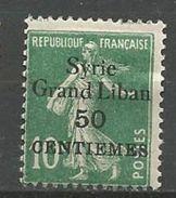 SYRIE N° 90 NEUF* TRACE DE CHARNIERE TB  / MH - Syria (1919-1945)