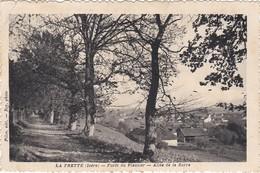 La Frette Le Chateau L Eglise    Foret Du Plantier   3 Cartes - France