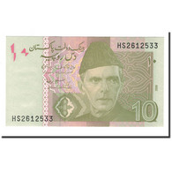 Pakistan, 10 Rupees, 2009, KM:54b, NEUF - Pakistan