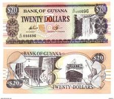Guyana - 20 Dollars 1996 (UNC) - Guyana