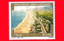 ITALIA - Usato - 2006 - Turismo - 33ª Emissione - Versilia Vacanze - Marina Di Pietrasanta (LU), Toscana - 0,45 - 1946-.. République