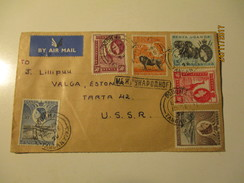 KENYA UGANDA TANGANYIKA 1960 DODOMA  TO RUSSIA USSR    AIR MAIL COVER  , Oo - Kenya, Uganda & Tanganyika
