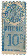 (I.B-CK) France Colonial Revenue : Tunisia Duty 10c (Affiches) - Europe (Other)