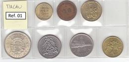 Macau - Set Of 7 Coins - Ref01 - Macao