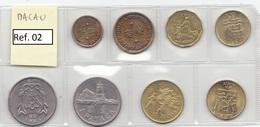 Macau - Set Of 8 Coins - Ref02 - Macau