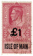 (I.B) George VI Revenue : Isle Of Man £1 - 1902-1951 (Kings)