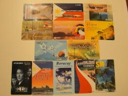 13 Remote Phonecards From South Korea - Divers - Korea (Süd)
