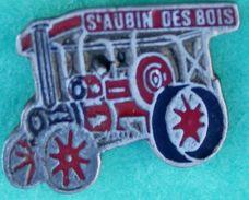 Y..388.).....ST AUBIN.DES BOIS........ANCIEN TRACTEUR.........ENGIN AGRICOLE    ...DU  FESTIVAL  RETRO - Pin's