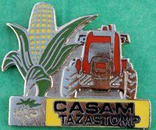 Y..389.).....TRACTEUR  //  ......CASAM......TAZASTOMP......... - Pin's