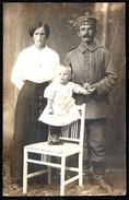 A9100 - Foto - Mode - Uniform 1. WK WW - Frau Und Kind 1915 - Mode