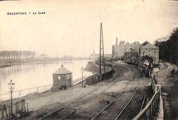 Argenteau - La Gare (phototypie Desaix, Rare) - Visé