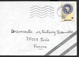 ! - Senegal - Lettre Avec Timbre YT 602 - Envoi De Dakkar Vers Paris - Sénégal (1960-...)