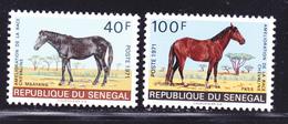SENEGAL N°  343 & 344 ** MNH Neufs Sans Charnière, Chevaux,  TB (D1035) - Senegal (1960-...)