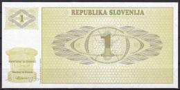 Slovenia:- 1 Tolar/P.1 (1990):- UNC - Slovénie