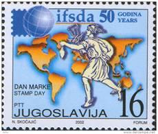 Yugoslavia 2002 International Federation Of Stamp Dealers' Associations, MNH (**) Michel 3092 - 1992-2003 Federal Republic Of Yugoslavia