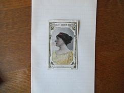Mme SEGOND-WEBER COMEDIE FRANCAISE N°426 CHOCOLAT GUERIN BOUTRON - Guérin-Boutron