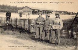 ETAMPES   -ECOLE D' Aviation  Militaire  à VILLE-SAUVAGE ...... - Etampes