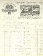 Manufacture De Limes Râpes Et Outils - Proutat - Thomeret  Creuxvaux Arnay Le Duc 1888 - France