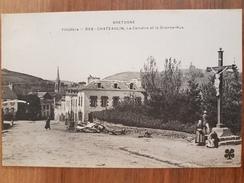 Chateaulin.le Calvaire Et La Grande Rue.MTIL 858 - Châteaulin