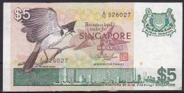 Singapore:- 5 Dollars/P.10 (1976):- VF - Singapour