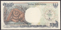 Indonesia:- 500 Rupiah/P.128h (1992/with Text Indicating 1999 Issue):- UNC - Indonésie